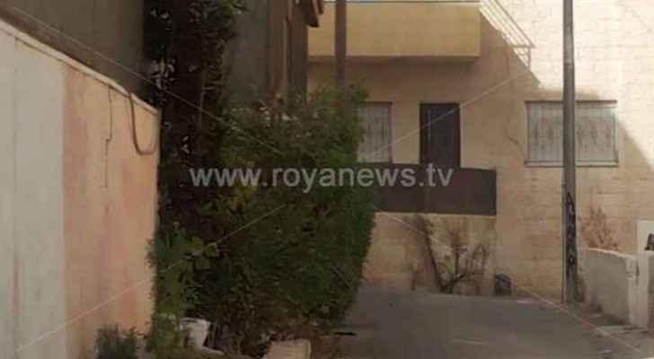 المنزل الذي يسكنه القاتل مع عائلته في طبربور