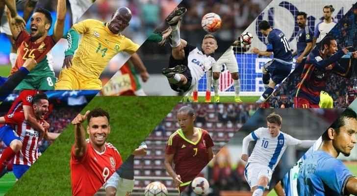 الإعلان عن أفضل عشرة أهداف في العام 2016