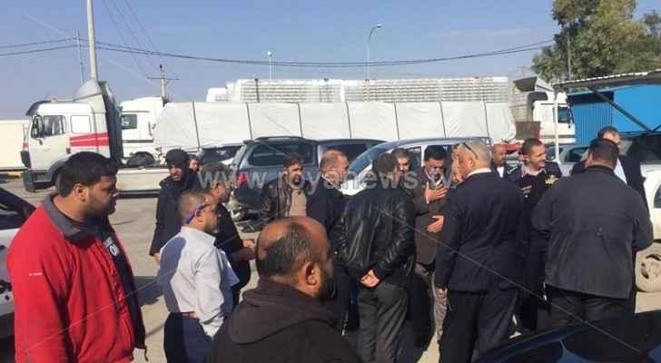سبب منع إدخال الشحنة غياب التنسيق مع إسرائيل