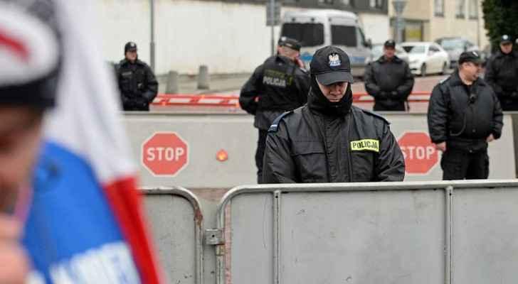 الشرطة البولندية تدخلت بعد احتجاجات من السكان على مقتل الشاب