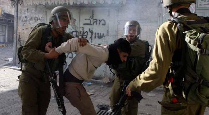 اعتقال فلسطينيين - ارشيفية
