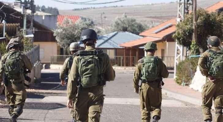 عناصر من شرطة الاحتلال الاسرائيلي ف