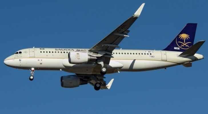 طائرة سعودية - ارشيفية