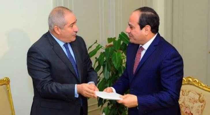 جودة وصل القاهرة بطائرة خاصة فى زيارة رسمية