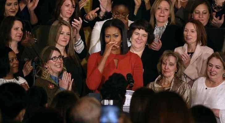 ميشيل أوباما في كلمة الوداع