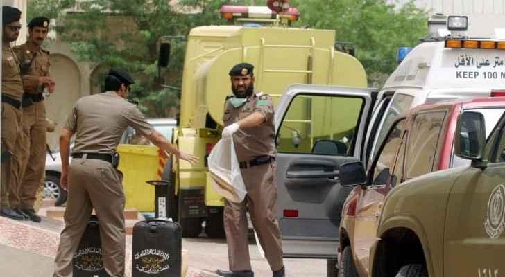 رجال شرطة سعوديين