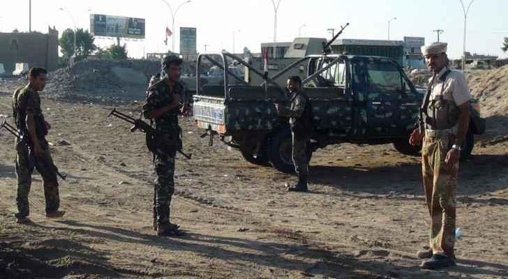 أرشيفية لجنود يمنيين
