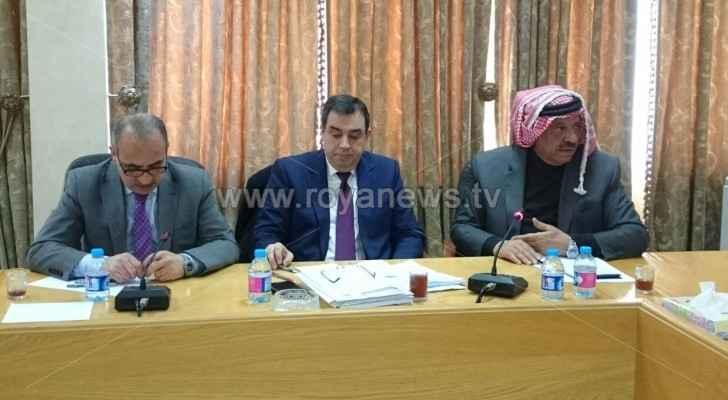 حماد يجتمع مع لجنة الريف والبادية النيابية