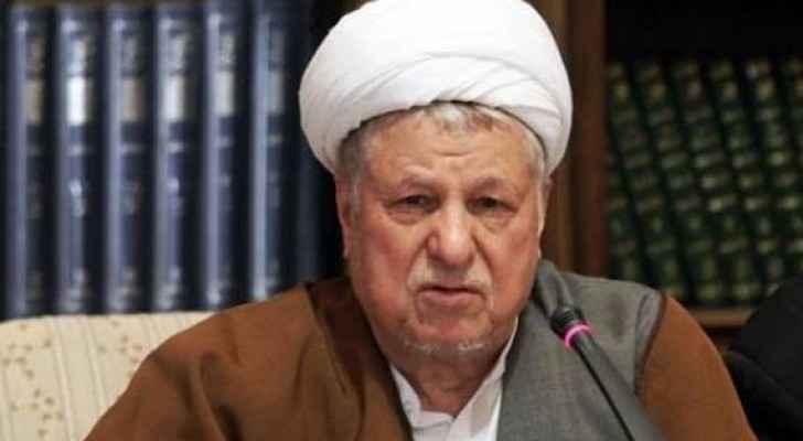الرئيس الإيراني السابق هاشمي رفسنجاني