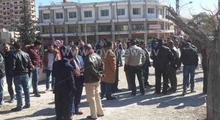 اعتصام لأولياء أمور الطلبة الدارسين في الخارج
