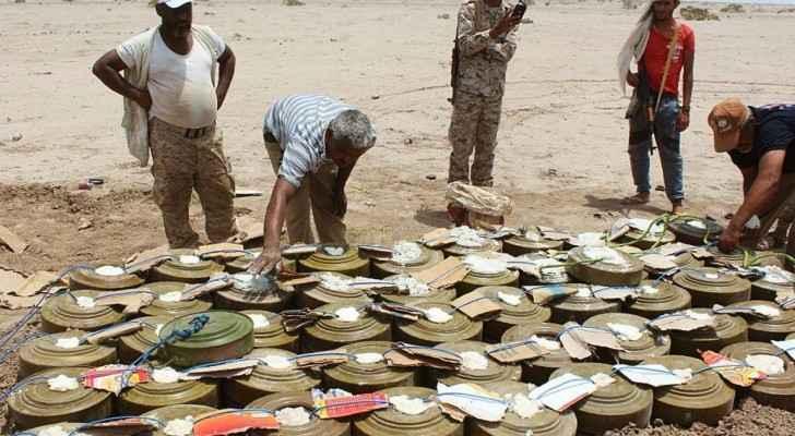 الميليشات عاودت منذ يومين زرع آلاف الألغام في سواحل الحديدة