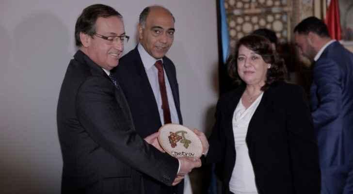انضمام البترا للشبكة الوطنية للمحميات الطبيعية في الأردن
