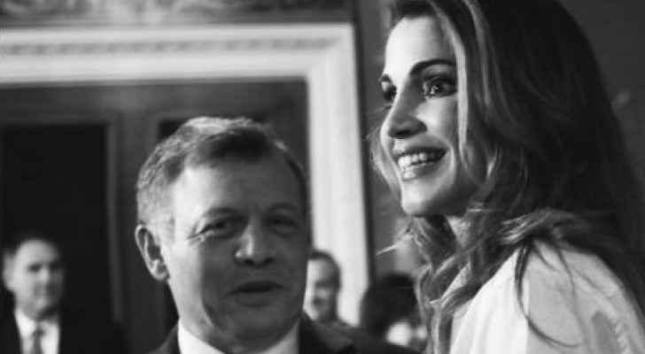 الصورة التي نشرتها جلالة الملكة رانيا العبدالله على انستجرام