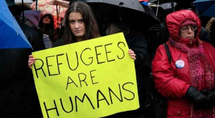 مظاهرة رافضة لقرارات الرئيس الأميركي بخصوص الهجرة.