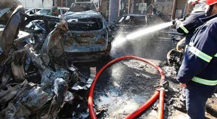هجوم سابق بسيارة مفخخة في بغداد