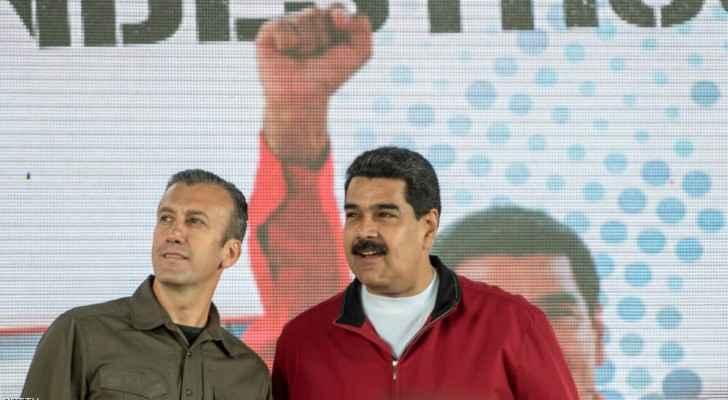 نيكولاس مادورو رفقة طارق العيسمي.