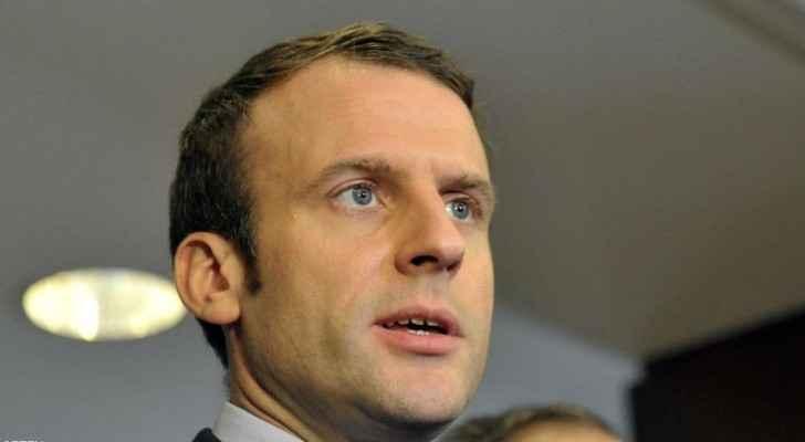 المرشح الرئاسي الفرنسي إيمانويل ماكرون.