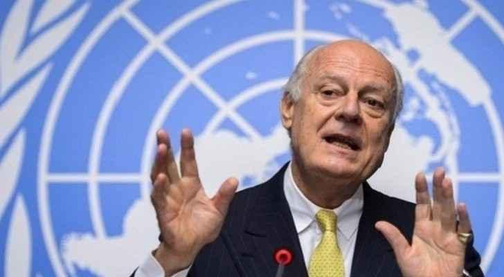 لمبعوث الأممي الخاص إلى سوريا ستيفان دي ميستورا