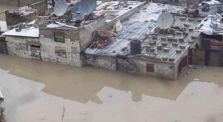تجمعات المياه في غزة