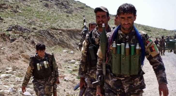 عناصر من الجيش الافغاني