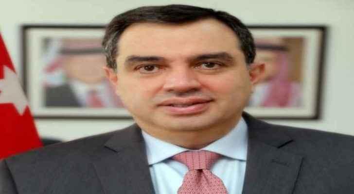وزير التخطيط والتعاون الدولي المهندس عماد الفاخوري