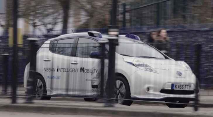سيارات ذاتية القيادة في لندن