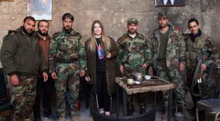 هذه ليست الزيارة الأولى لناوموفا لسوريا خلال الحرب