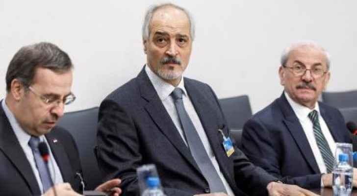 بشار الجعفري كبير مفاوضي الحكومة السورية