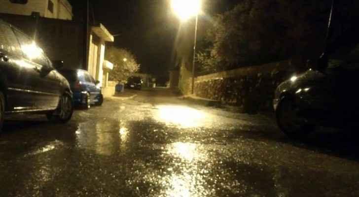 الامطار في عجلون
