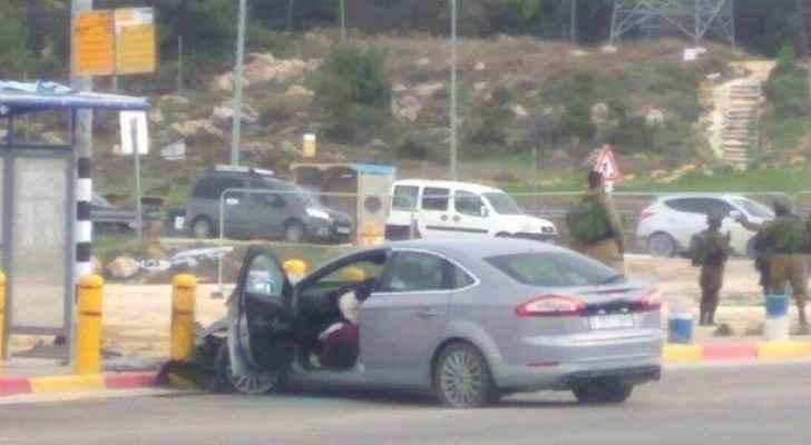 شهيدة بنيران قوات الاحتلال على مفرق عتصيون