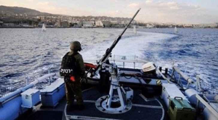 زوارق تابعة للاحتلال الاسرائيلي