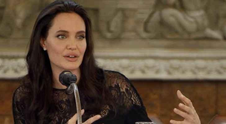 تطرقت أنجلينا جولي في المحاضرة إلى النساء والسلام والأمن