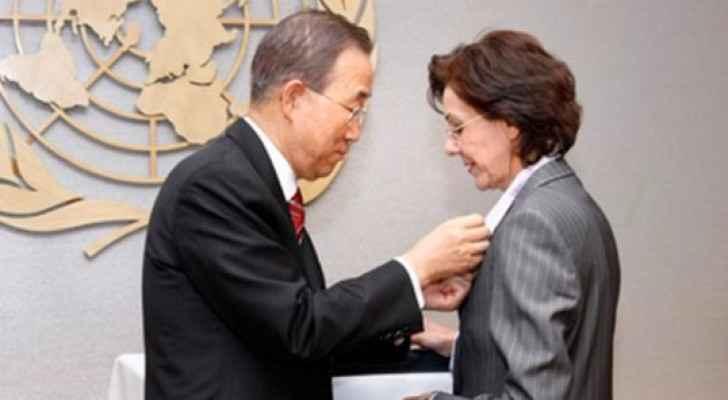 الأمين العام السابق للأمم المتحدة يكرم ريما خلف - أرشيفية