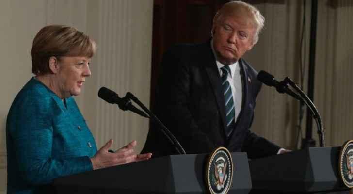 أنغيلا ميركل ودونالد ترامب