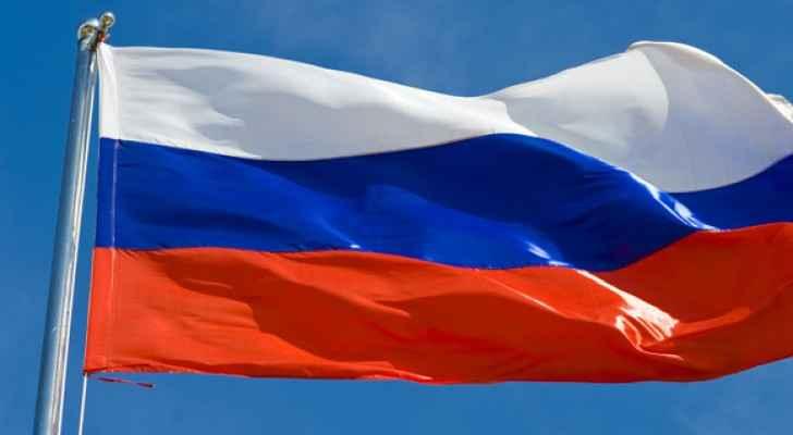 علم روسيا - تعبيرية