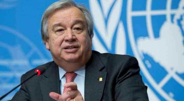 الأمين العام للأمم المتحدة أنطونيو غوتيرس