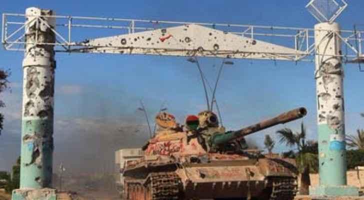 معارك مستمرة في منطقة راس لانوف