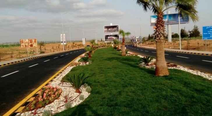 مدخل مطار الملكة علياء الدولي