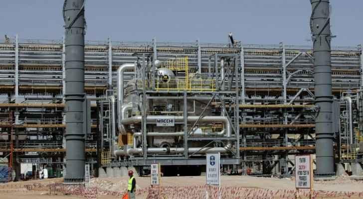 منشأة خريص التابعة لارامكو شرق الرياض