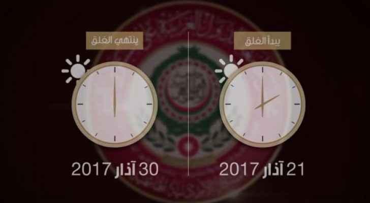 غلق أمني كامل في محيط أعمال القمة العربية في البحر الميت
