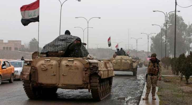 مدرعات تابعة للجيش العراقي تدخل مدينة الموصل