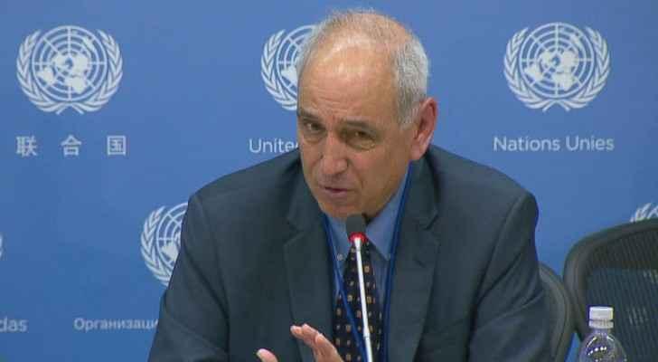 مقرر الامم المتحدة الخاص للاراضي الفلسطينية المحتلة مايكل لينك