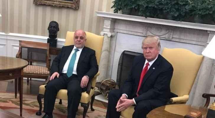 ترامب والعبادي في المكتب البيضاوي