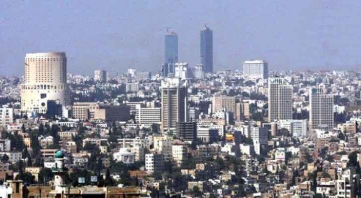 الصورة أرشيفية للعاصمة عمان