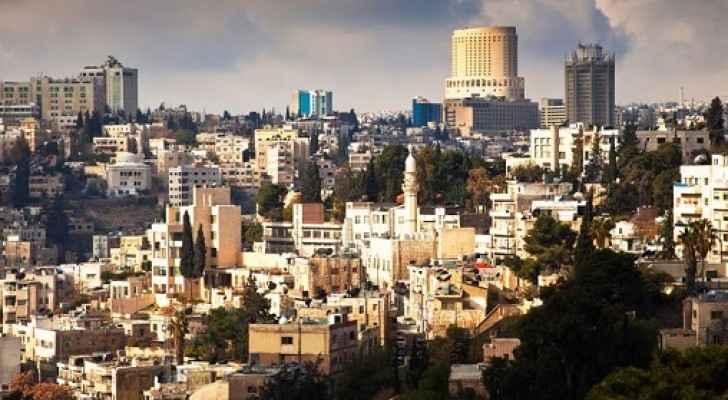 جانب من العاصمة عمان- ارشيفية