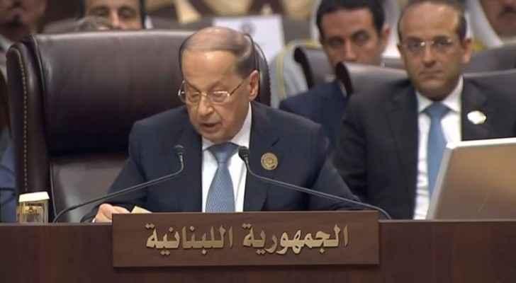 الرئيس اللبناني ميشيل عون