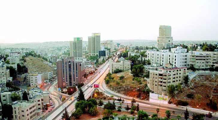 منظر عام للعاصمة عمان - الصورة من مواقع التواصل الاجتماعي