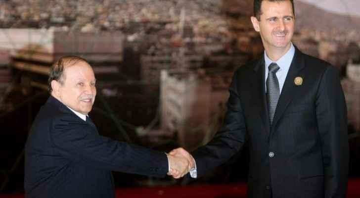 الأسد وبوتفليقة