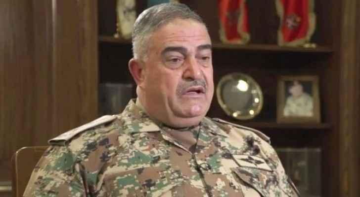 رئيس هيئة الاركان المشتركة الفريق الركن محمود عبدالحليم فريحات