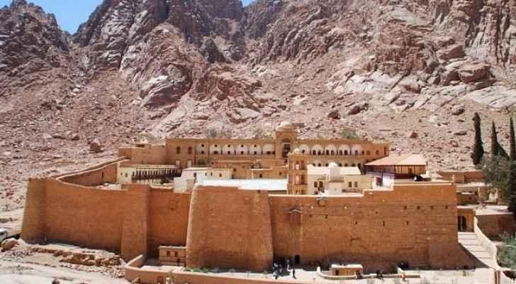 دير سانت كاترين جنوب سيناء بمصر